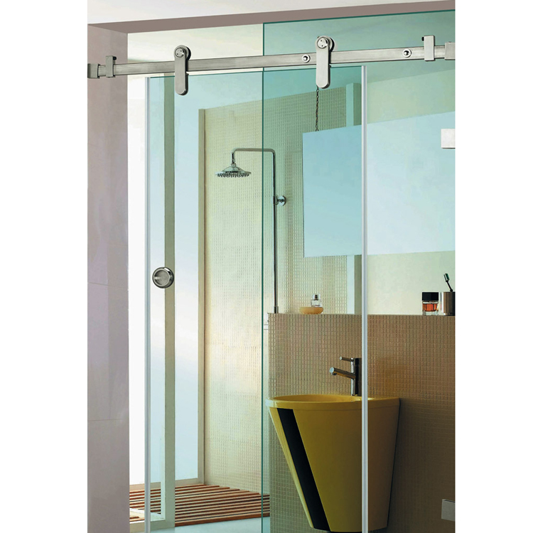 stainless steel frameless glass enclosure