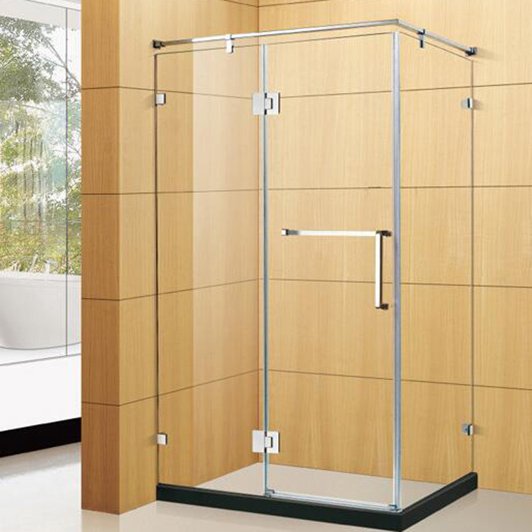 stainless steel glass shower room